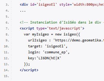 IsiGéo API